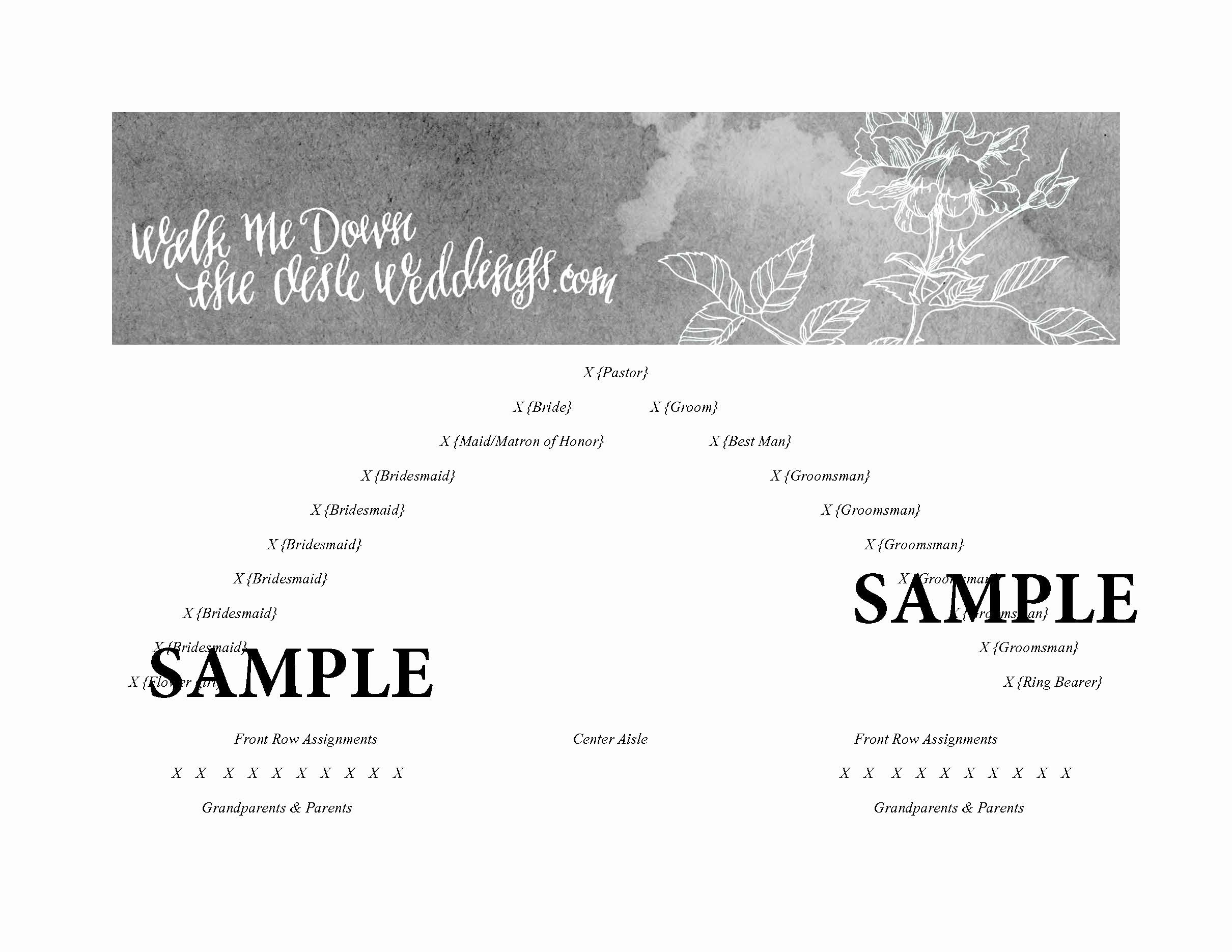 Church Seating Chart Template Awesome Church Wedding Seating Plan Template