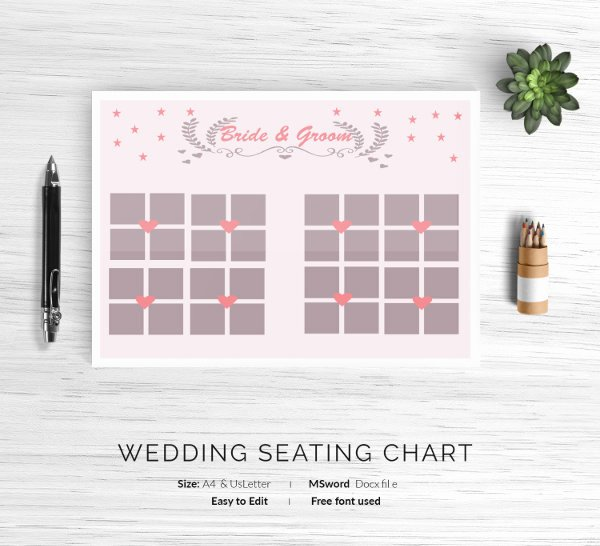 Church Seating Chart Template Beautiful 12 Wedding Seating Charts Templates Modern Luxury