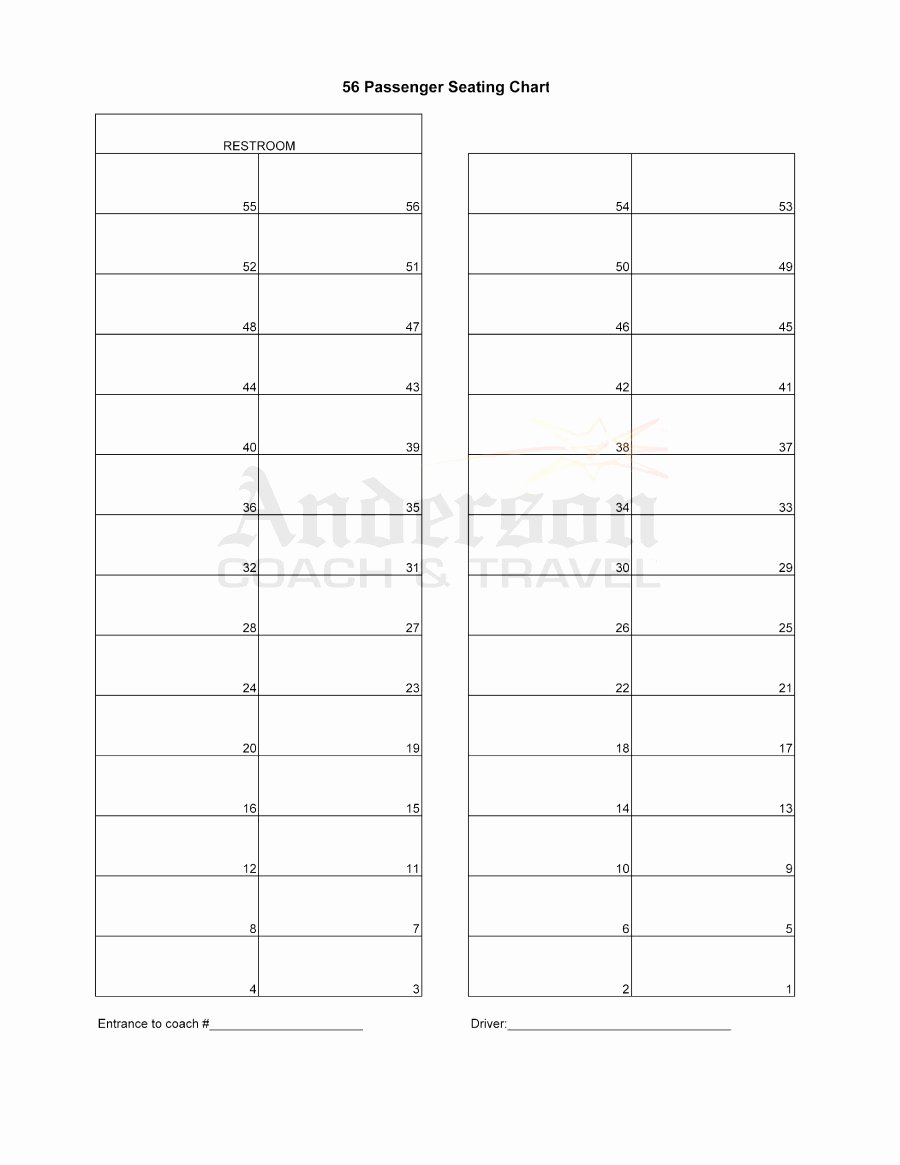 Church Seating Chart Template Best Of 40 Great Seating Chart Templates Wedding Classroom More