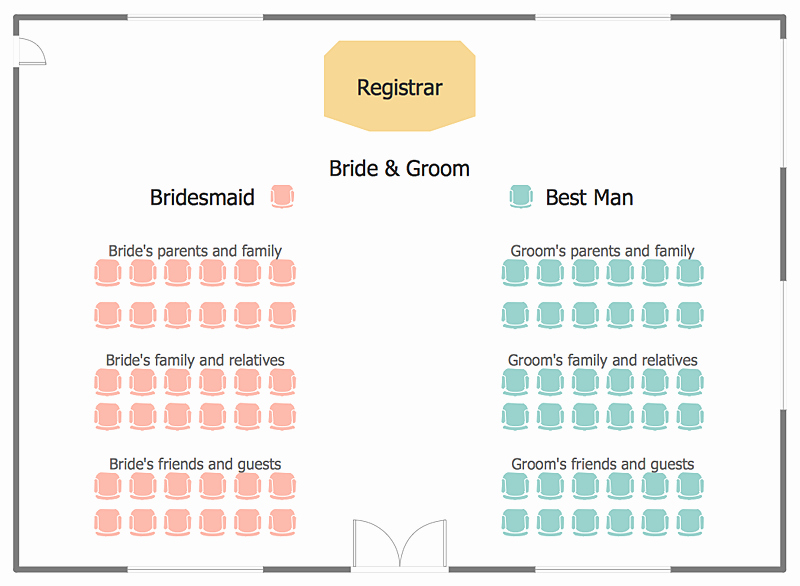 Church Seating Chart Template Best Of Wedding Ceremony Seating who Sits where and when