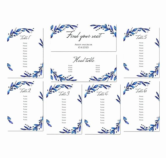 Church Seating Chart Template Inspirational Wedding Reception Template Downloadable Invitations Place