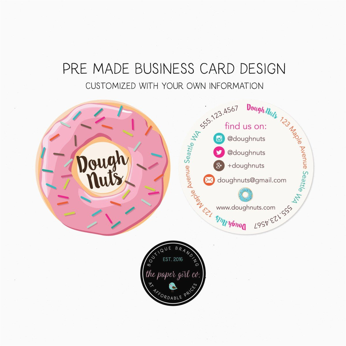 Circle Business Card Template Fresh 36 Business Card Stickers Download