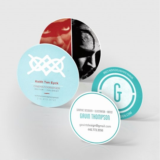 Circle Business Card Template Fresh Circle Business Card Size