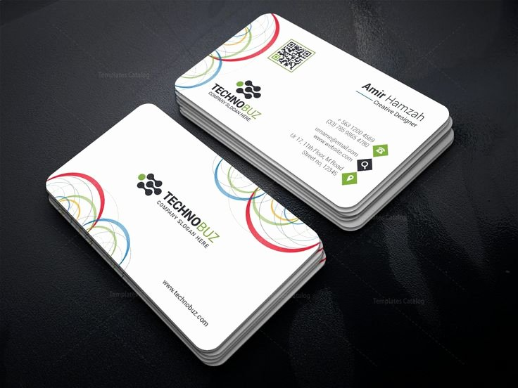 Circle Business Card Template Luxury Best 25 Premium Business Cards Ideas On Pinterest