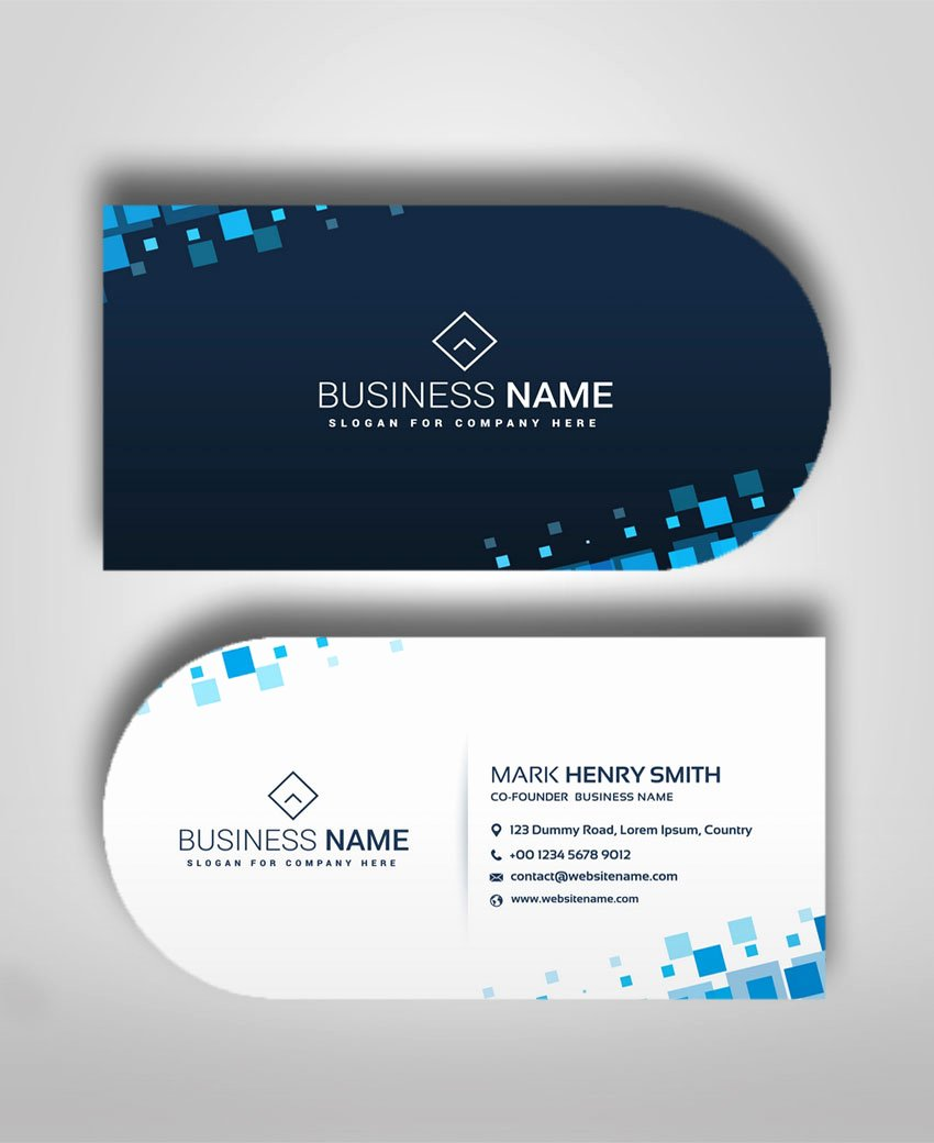 Circle Business Card Template Luxury Half Circle Business Cards Business Card Template