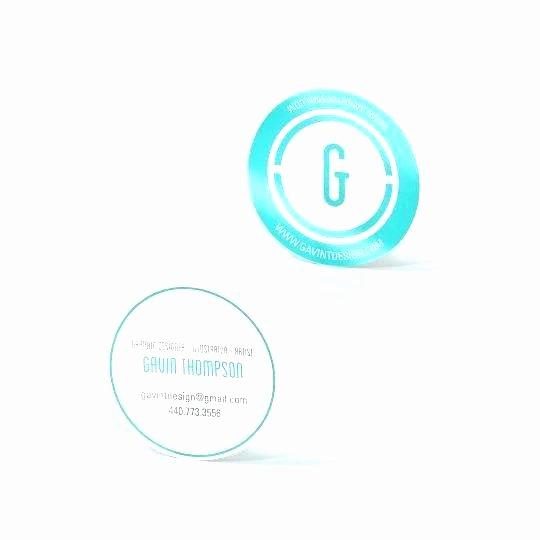 Circle Business Card Template Unique Circle Card Template – Kazakiafo