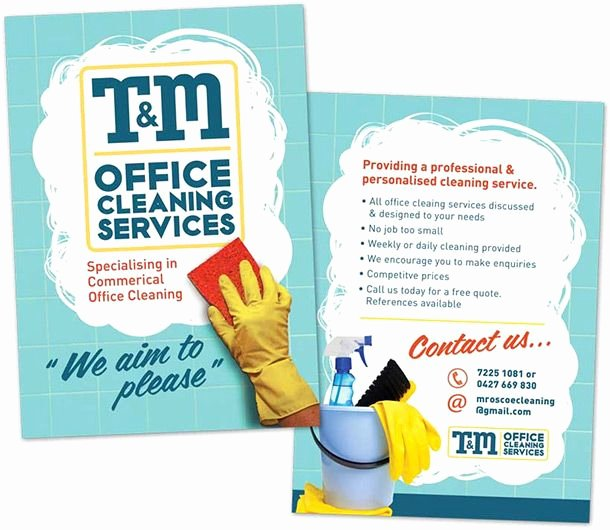 Cleaning Service Flyer Template Beautiful 15 Cool Cleaning Service Flyers 10