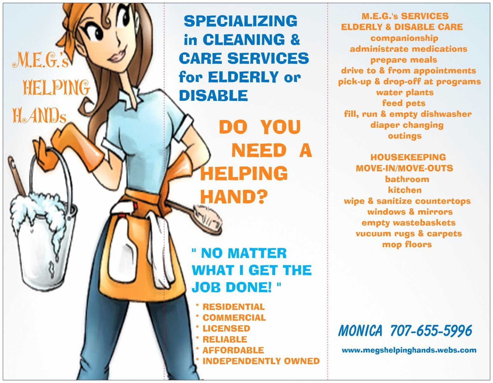 Cleaning Service Flyer Template Beautiful Housekeeping Flyers