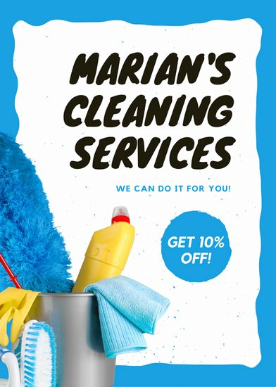Cleaning Service Flyer Template Best Of Cleaning Flyer Templates Canva