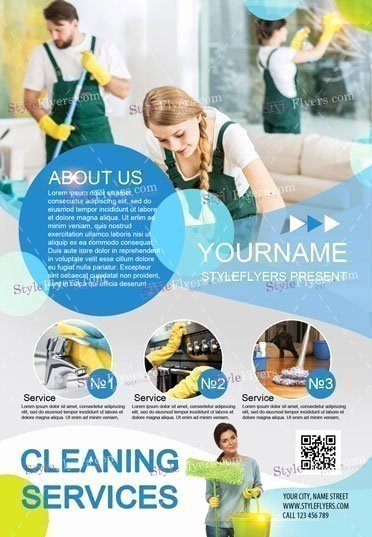 Cleaning Service Flyer Template Best Of Cleaning Services Psd Flyer Template Styleflyers