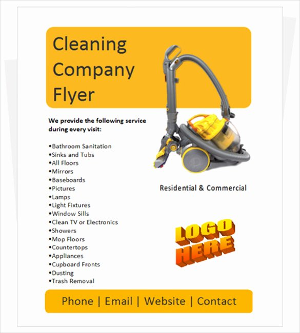 Cleaning Service Flyer Template Fresh House Cleaning Services Flyer Templates