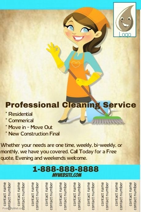 Cleaning Service Flyer Template Inspirational Best 25 Cleaning Service Flyer Ideas On Pinterest