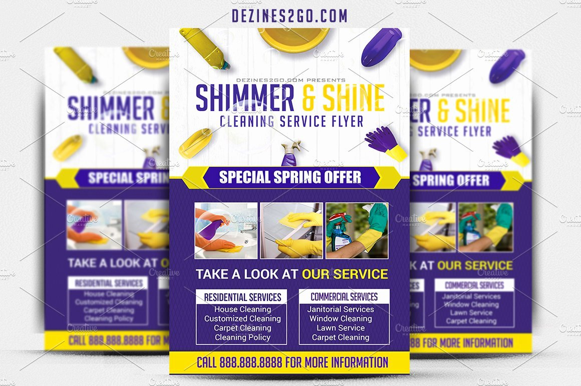 Cleaning Service Flyer Template Inspirational Cleaning Service Flyer Template Flyer Templates