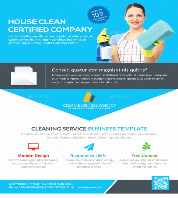 Cleaning Service Flyer Template Inspirational House Cleaning Flyer Template – 20 Free Psd format