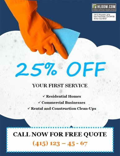 Cleaning Service Flyer Template Luxury 14 Free Cleaning Flyer Templates [house or Business]