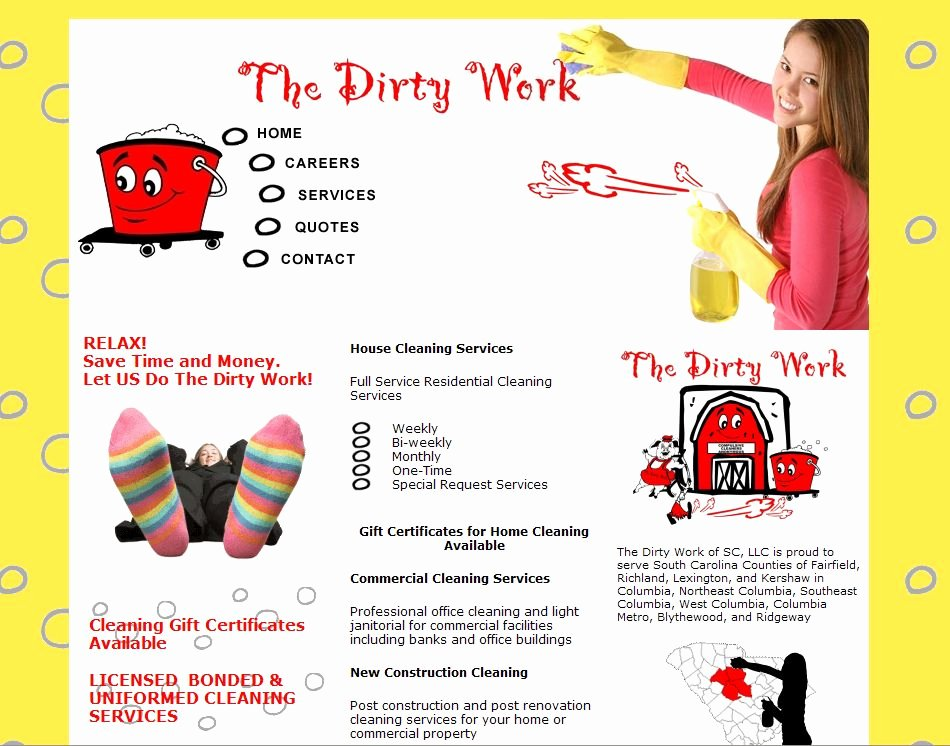 Cleaning Service Flyer Template New House Cleaning Services