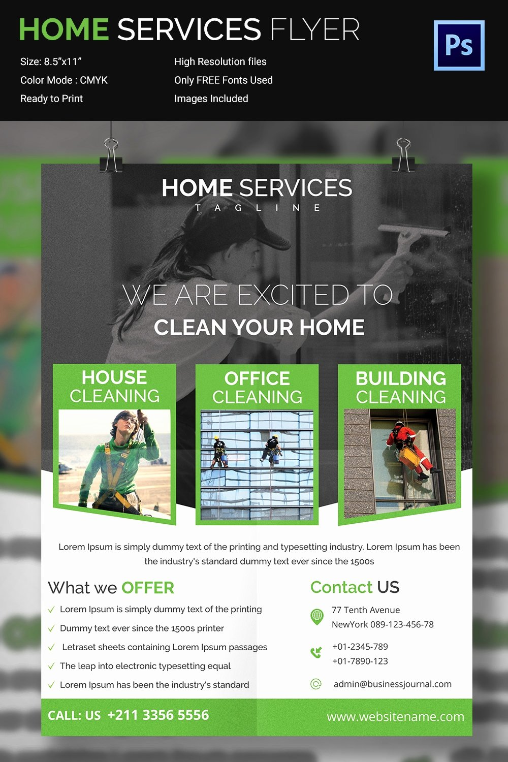 Cleaning Service Flyer Template Unique House Cleaning Flyer Template 23 Psd format Download