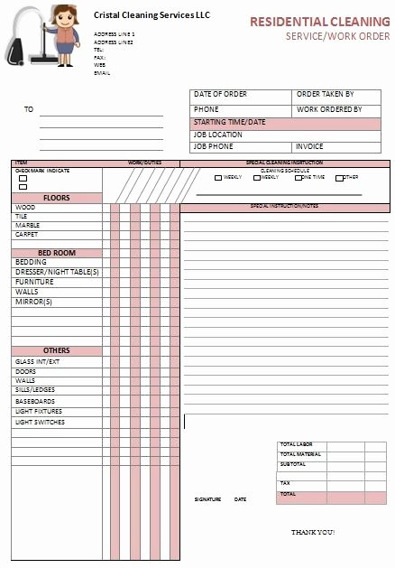 Cleaning Services Invoice Template Best Of Kitchen Hood Cleaning Invoice