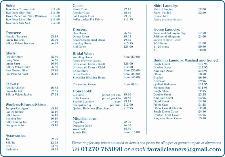 Cleaning Services Price List Template Luxury House Cleaning House Cleaning Services Prices