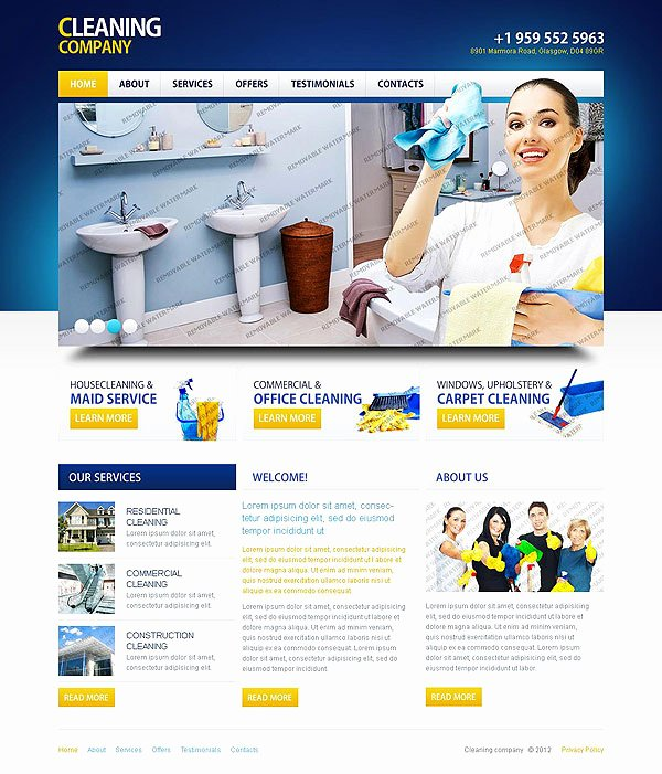 cleaning business website templates mercial cleaning website templates onwebioinnovateco free