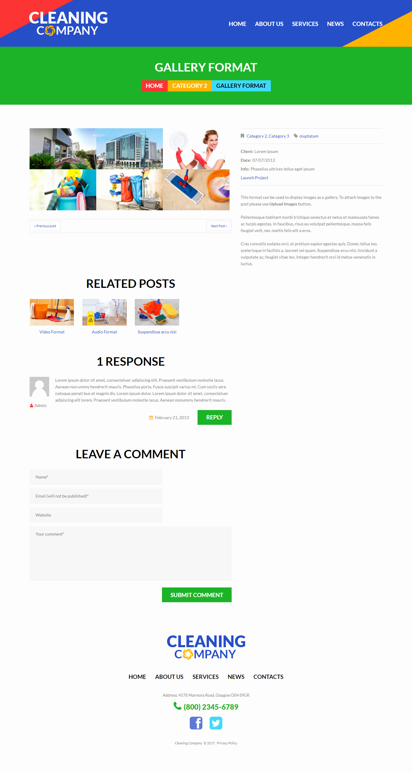 Cleaning Services Website Template Beautiful Cleaning Services Responsive Wordpress theme