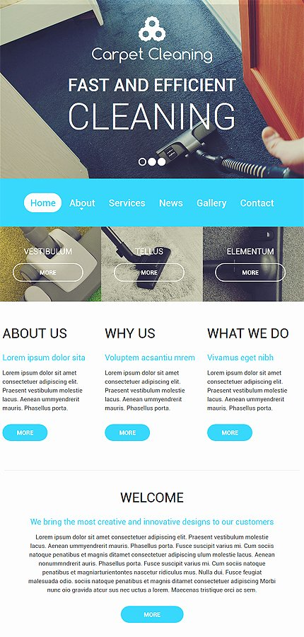 Cleaning Services Website Template Fresh Carpet Cleaning Website Template