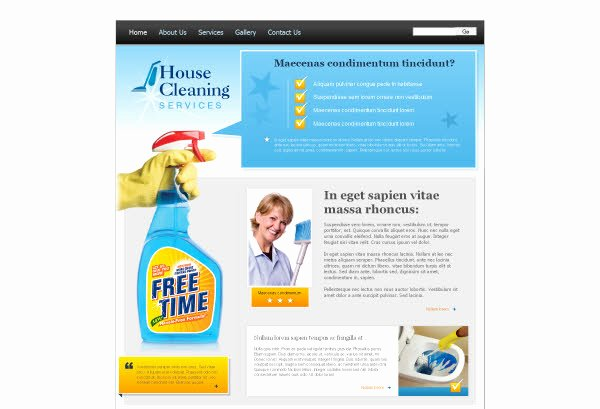 Cleaning Services Website Template Inspirational 96 Cleaning Website Templates Free Download Free