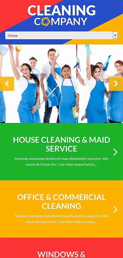 Cleaning Services Website Template Inspirational Cleaning Services Wordpress theme