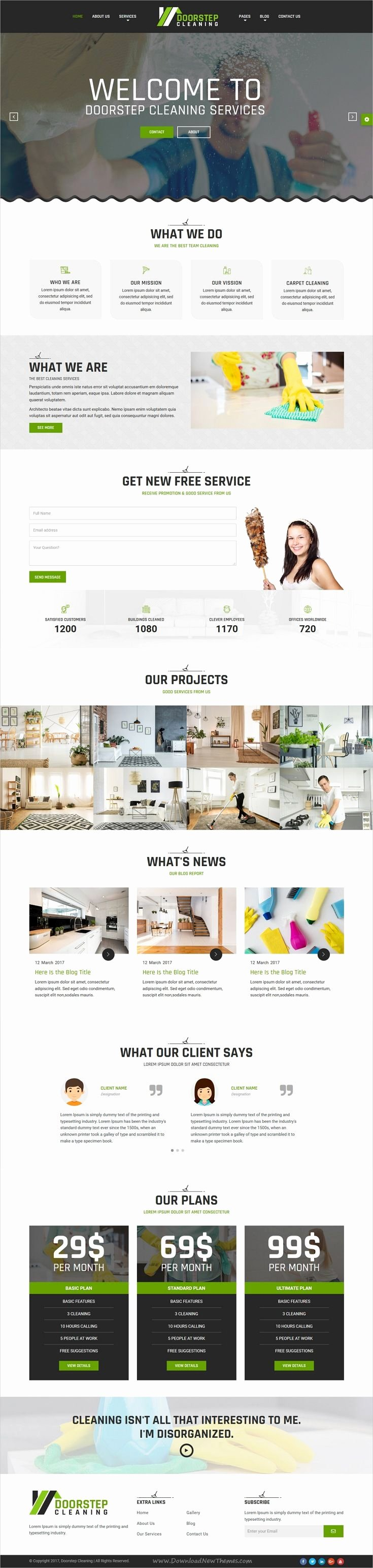 Cleaning Services Website Template Lovely Best 25 Cleaning Services Ideas On Pinterest