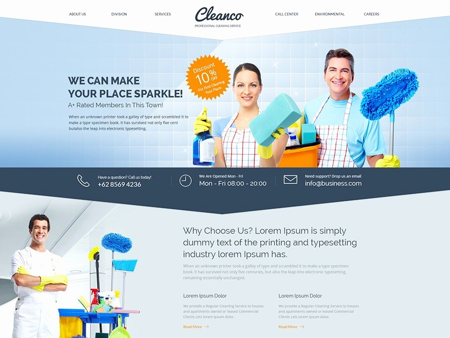 Cleaning Services Website Template Lovely Cleaning Business Website Templates Cleaning Service