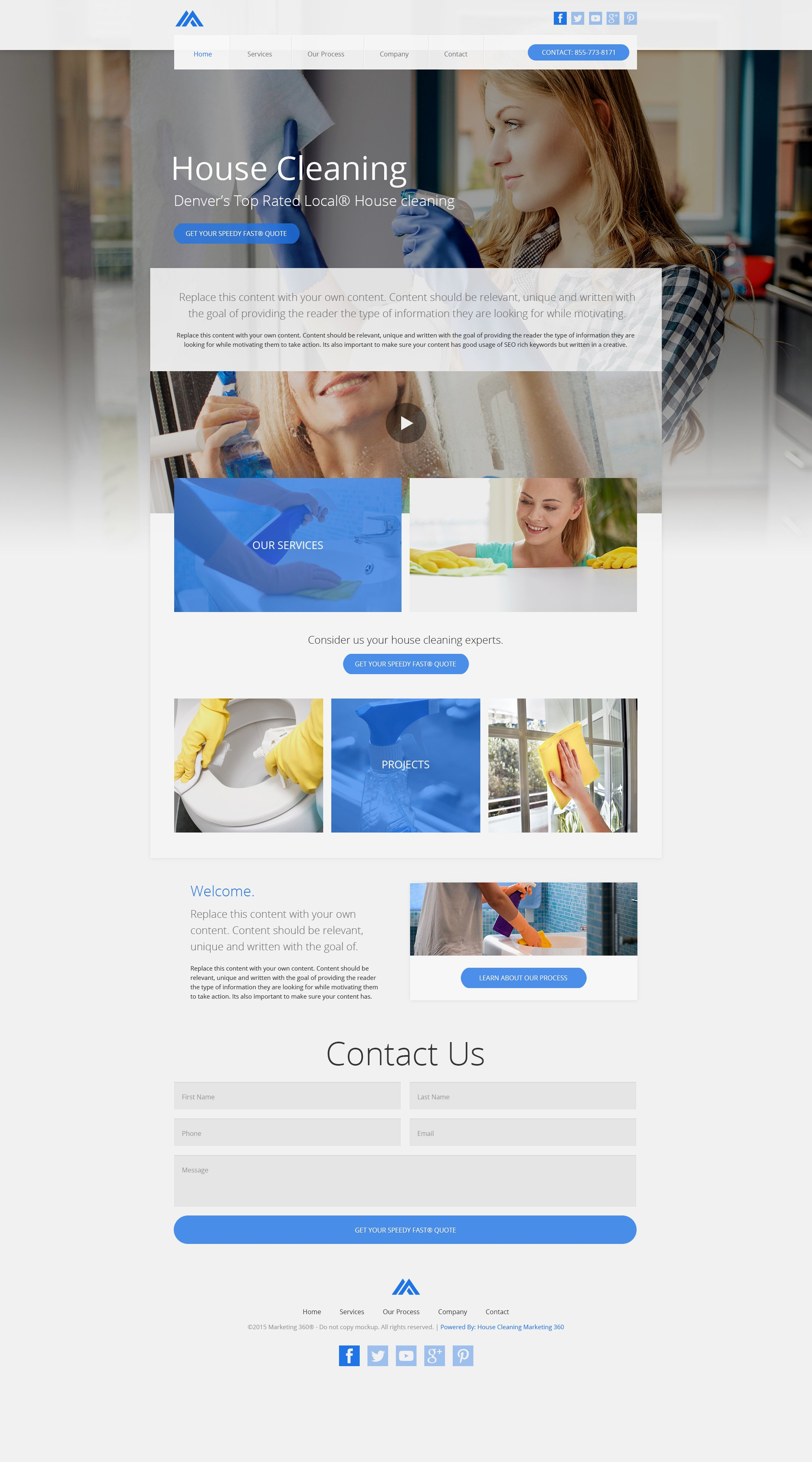 Cleaning Services Website Template Unique Cleaning Service Website Templates Mobile Responsive
