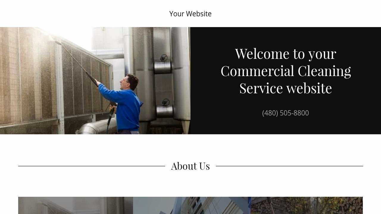 Cleaning Services Website Template Unique Mercial Cleaning Service Website Templates