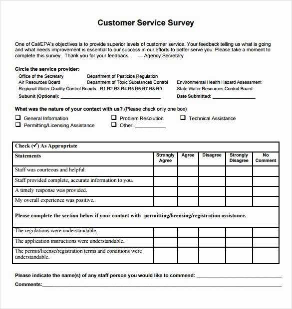 Client Satisfaction Survey Template Elegant 14 Customer Satisfaction Survey Samples