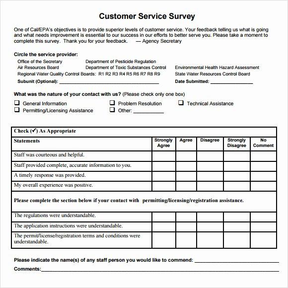 Client Satisfaction Survey Template Luxury 7 Client Satisfaction Survey Samples