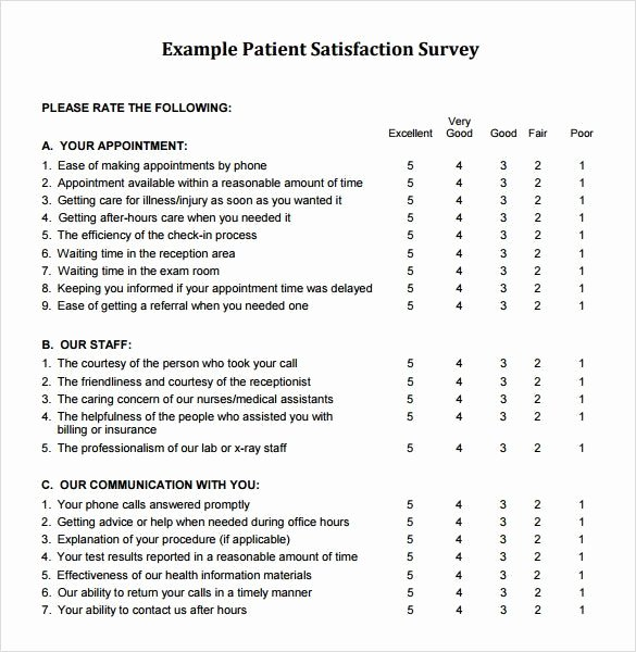 Client Satisfaction Survey Template Unique Image Result for Sample Customer Satisfaction Survey