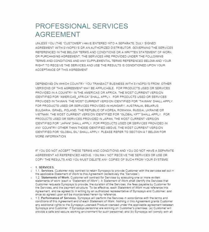 Client Service Agreement Template Lovely Customer Contract Agreement Template Vendor Word Document