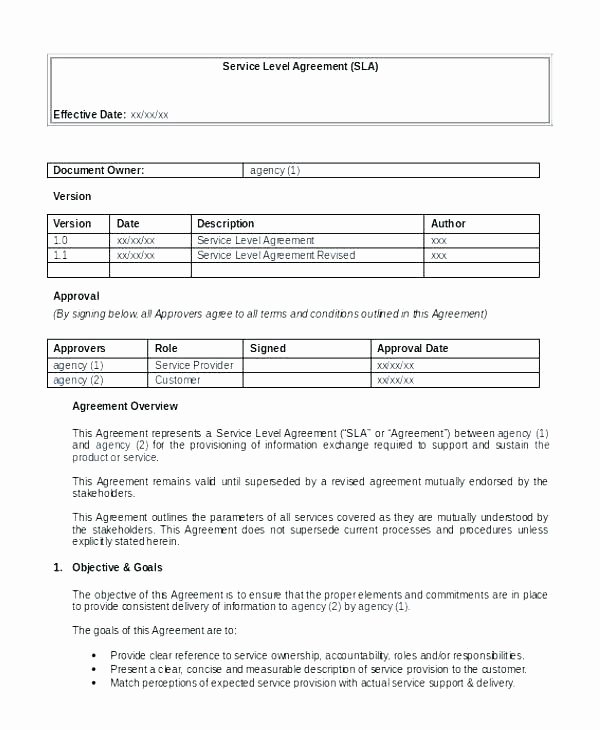 Client Service Agreement Template Luxury Customer Service Agreement Template