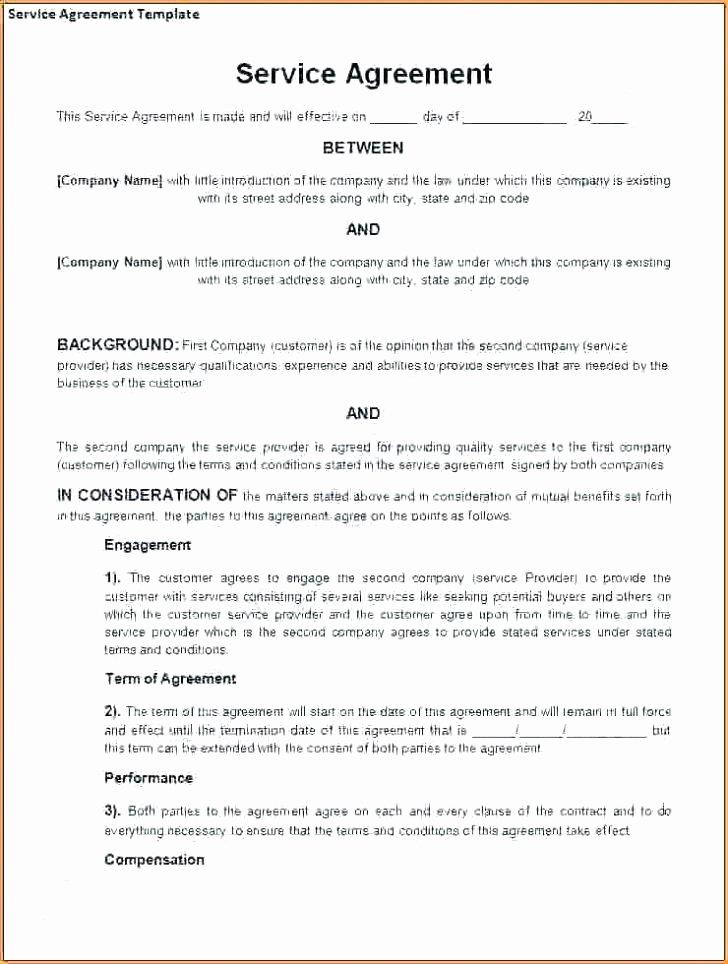 Client Service Agreement Template Unique Customer Service Agreement Template – Threestrands