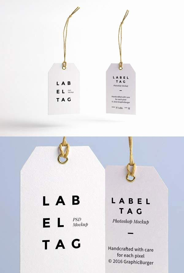 Clothing Hang Tag Template Best Of 21 Free Tag and Labels Mockup to Create Custom Design for