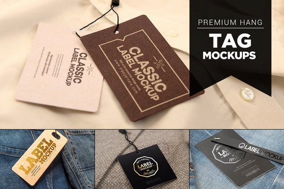 Clothing Hang Tag Template Best Of Clothing Hang Tag Mock Up Template Designtube Creative