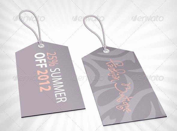 Clothing Hang Tag Template Elegant 20 Cool Product Tag & Label Design Templates – Desiznworld