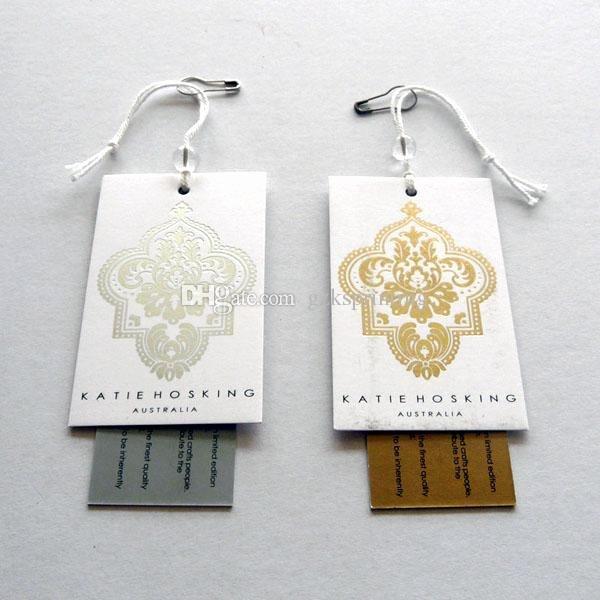 Clothing Hang Tag Template Elegant 2019 Custom Clothing Tags 2 Cards Hang Tags Printing In