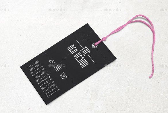 Clothing Hang Tag Template Fresh 29 Hang Tag Template Free Printable Vector Eps Psd