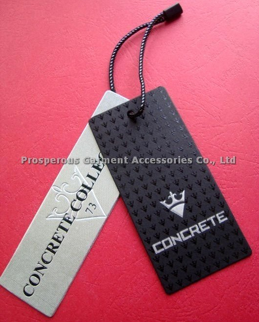 Clothing Hang Tag Template Inspirational Full Color Printed No Moq for All Kinds Of Hangtag Hang