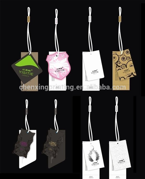 Clothing Hang Tag Template Lovely Free Sample Printable Luggage Tag Template Baby Show Goods