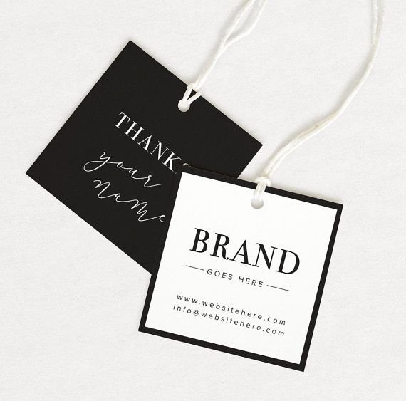 Clothing Hang Tag Template Luxury Best 25 Custom Hang Tags Ideas On Pinterest