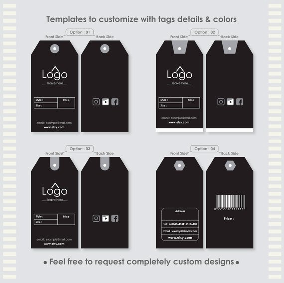Clothing Hang Tag Template New Buy T Shirt Tag Template Off Discount