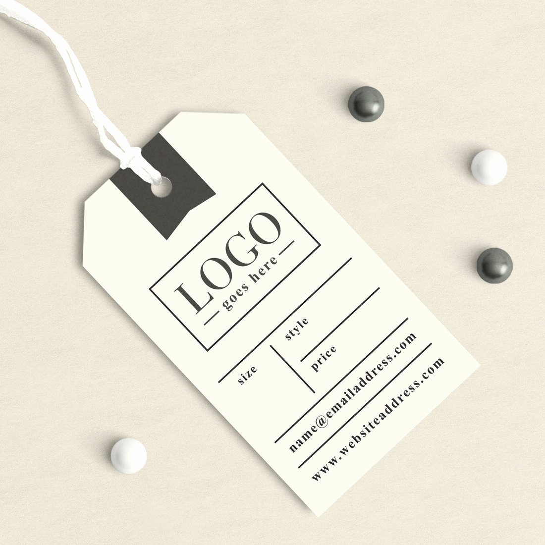Clothing Hang Tag Template New Custom Clothing Labels Clothing Tags Custom Hang Tags