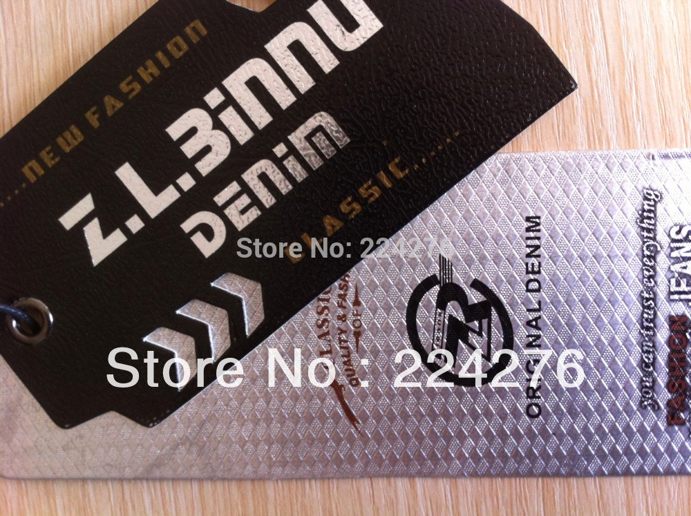 Clothing Hang Tag Template New Moq 200pcs Oem Swing Tag for Clothing Full Color Printing
