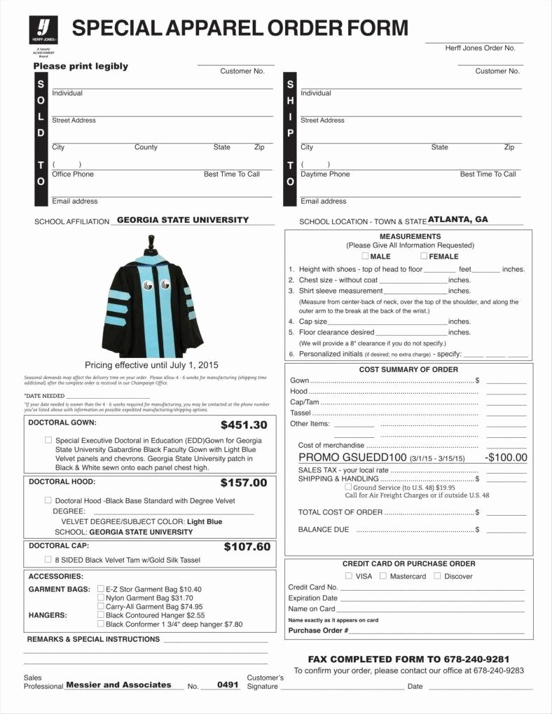 Clothing order form Template Awesome 9 Apparel order form Templates No Free Word Pdf Excel